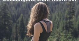 Lockengerät zieht Haare ein